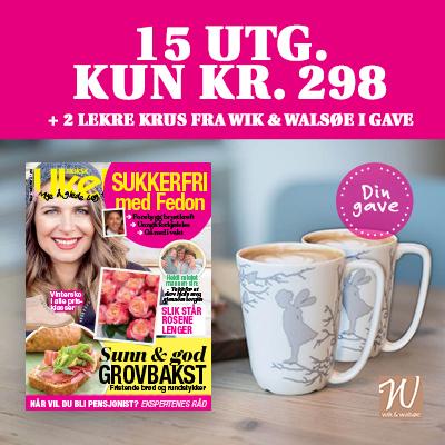 Norsk Ukeblad - alvekrus fra Wik & Walsøe